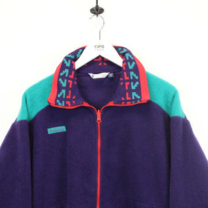 COLUMBIA 90s Fleece Jacket Multicolour | Medium