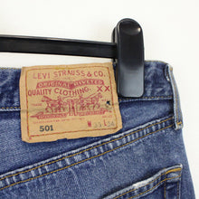 Load image into Gallery viewer, LEVIS 501 Jeans Blue | W33 L34