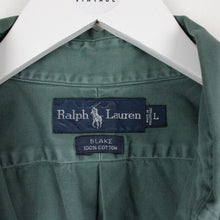 Load image into Gallery viewer, RALPH LAUREN Shirt Green | Large