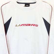 Load image into Gallery viewer, UMBRO 00s Sweatshirt White | Large