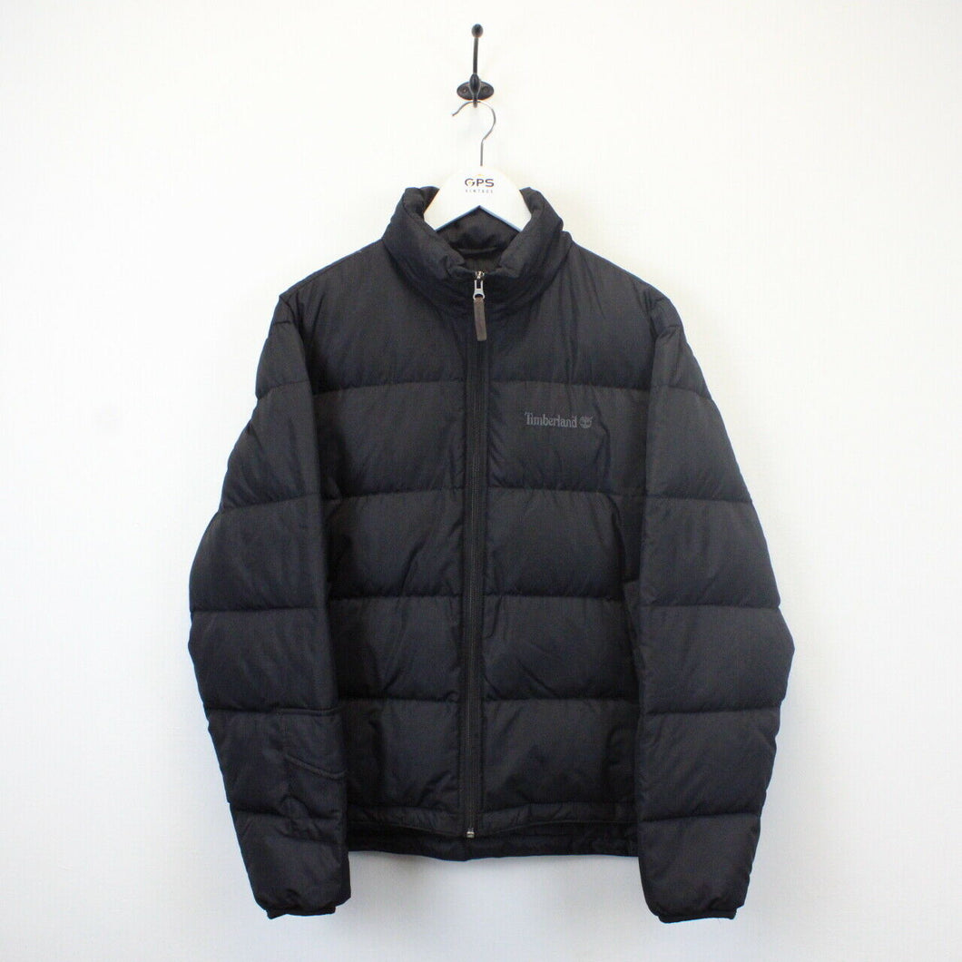 TIMBERLAND 00s Down Puffer Jacket Black | Small