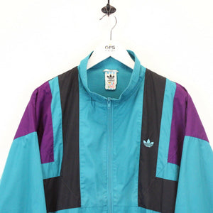 Vintage 80s ADIDAS Track Top Multicolour | XL