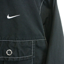 Load image into Gallery viewer, Womens NIKE 90s Track Top Black | Medium