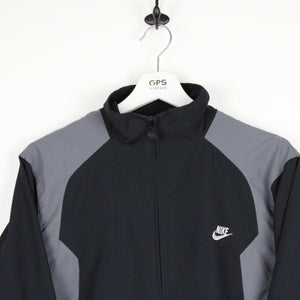 NIKE Track Top Jacket Black | Small