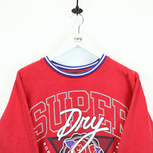 Load image into Gallery viewer, Womens SUPERDRY Sweatshirt Red | Small