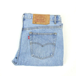 90s LEVIS 501 Jeans Light Blue | W36 L32