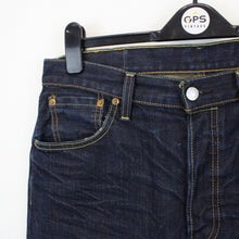 Load image into Gallery viewer, LEVIS 501 Jeans Dark Blue | W34 L34