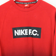 Load image into Gallery viewer, NIKE Sweatshirt Red | Medium