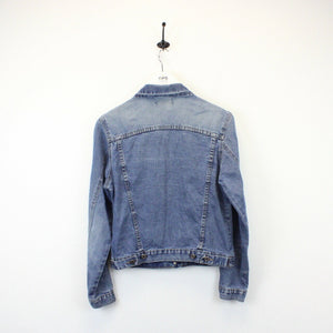 Womens 80s Denim Jacket Light Blue | Small