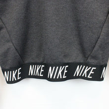Load image into Gallery viewer, Womens NIKE Crop Sweatshirt Grey | Small