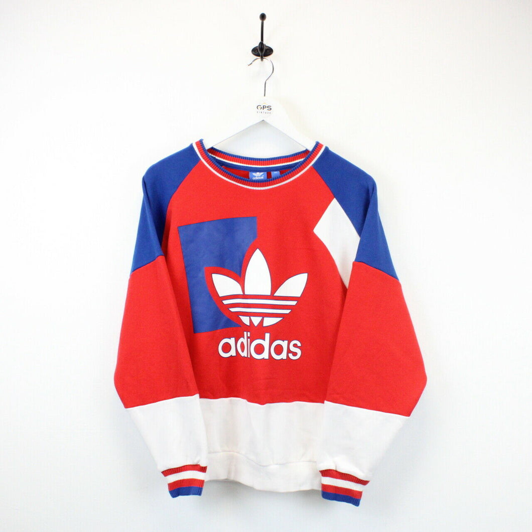 Womens ADIDAS Sweatshirt Multicolour | Medium
