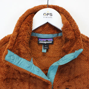 Womens PATAGONIA Fleece Brown | Small