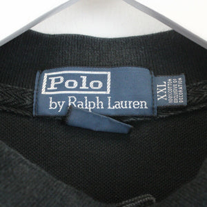 RALPH LAUREN Polo Shirt Black | XXL
