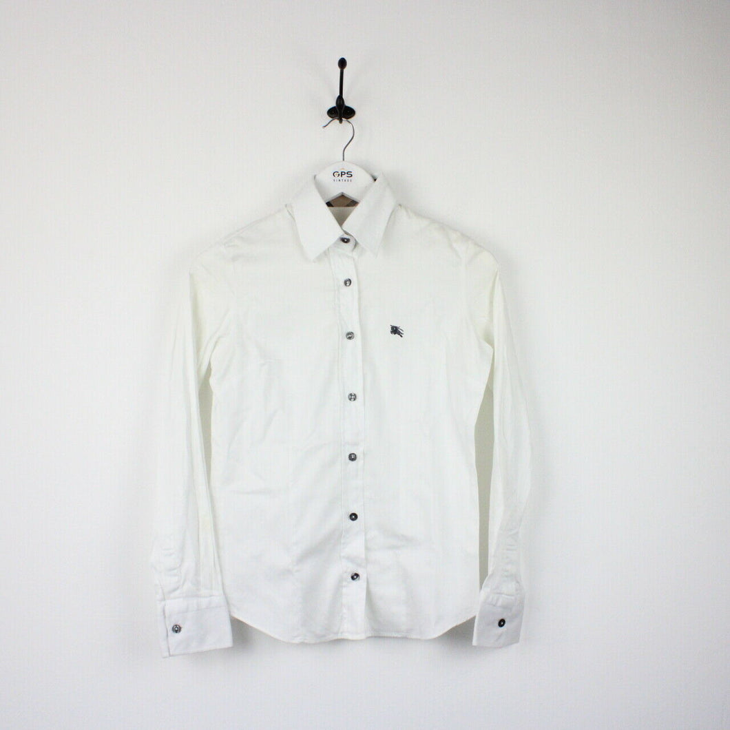 Womens BURBERRY Shirt White | XS