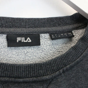 Womens FILA Sweatshirt Grey | Large