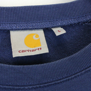 CARHARTT 00s Sweatshirt Blue | Large