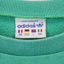 Load image into Gallery viewer, ADIDAS 80s Sweatshirt Green | Large