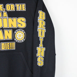 NHL Boston BRUINS Hoodie Black | Small