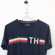 Load image into Gallery viewer, TOMMY HILFIGER T-Shirt Navy Blue | Medium