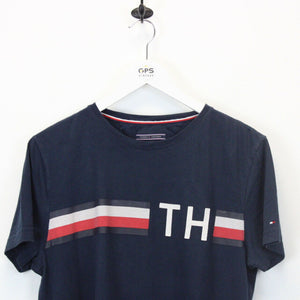 TOMMY HILFIGER T-Shirt Navy Blue | Medium