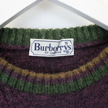 Load image into Gallery viewer, Womens BURBERRYS OF LONDON 90s Knit Sweatshirt | Medium