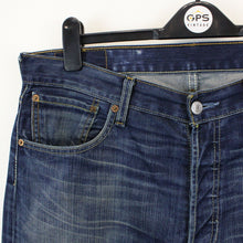 Load image into Gallery viewer, LEVIS 501 Jeans Dark Blue | W34 L36