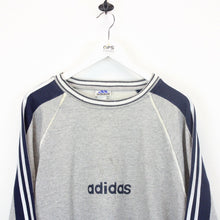 Load image into Gallery viewer, ADIDAS 90s Sweatshirt Grey | Large