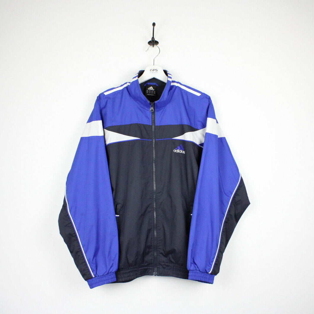 ADIDAS Track Top Jacket Navy Blue | Medium
