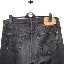 Load image into Gallery viewer, LEVIS 501 Jeans Black Charcoal | W38 L34