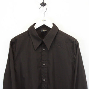 JUST CAVALLI Shirt Brown | Small