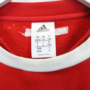 ADIDAS Bayern Munich Sweatshirt Red | Medium