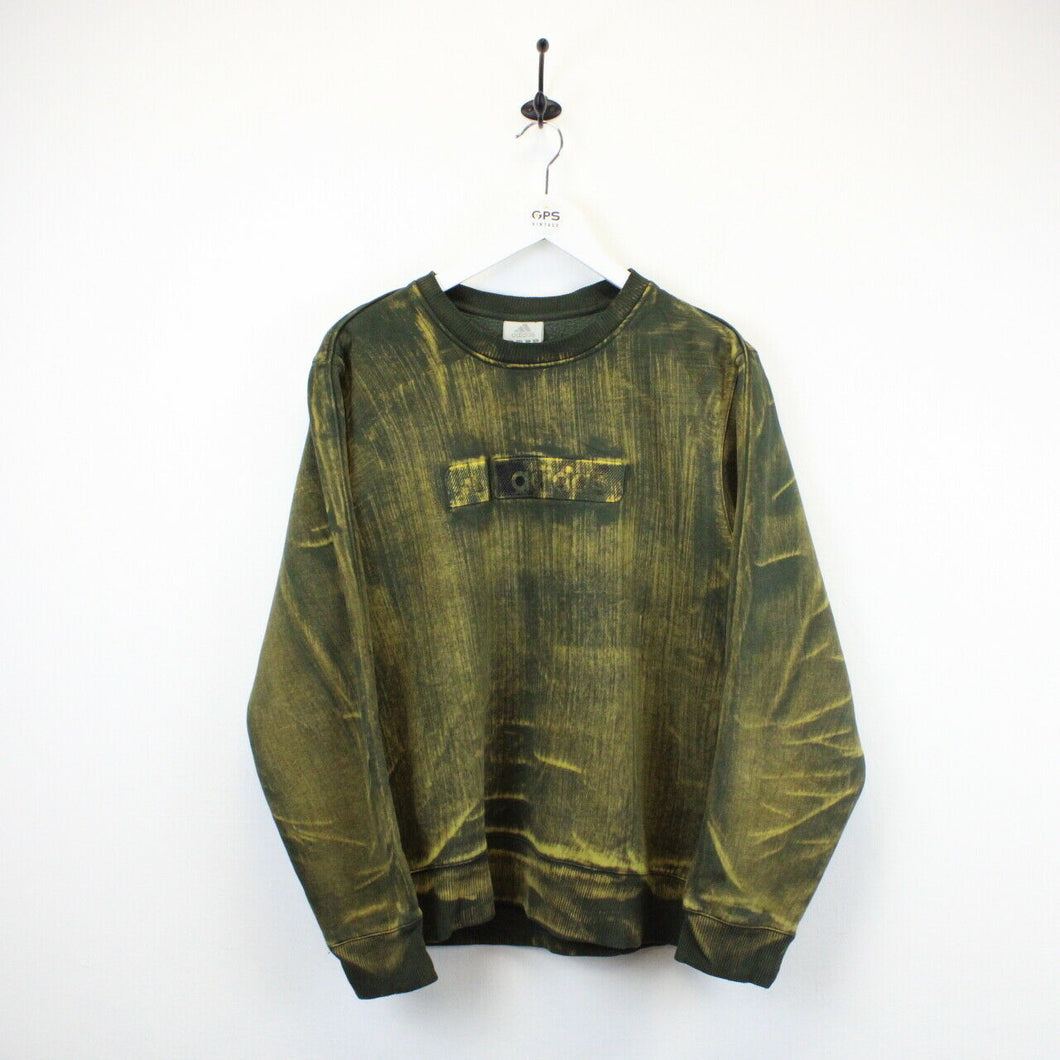 ADIDAS Sweatshirt Green | Medium
