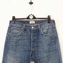Load image into Gallery viewer, LEVIS 501 Jeans Blue | W34 L30