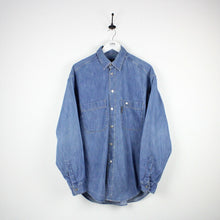 Load image into Gallery viewer, TRUSSARDI Denim Shirt Blue | Large