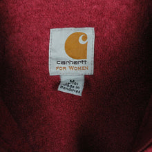 Load image into Gallery viewer, Womens Vintage CARHARTT Hoodie Red | Medium