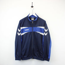 Load image into Gallery viewer, HUMMEL 90s Track Top Navy Blue | Medium