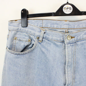 90s LEVIS 501 Jeans Light Blue | W35 L32