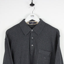 Load image into Gallery viewer, BURBERRY Polo Shirt Grey | Medium