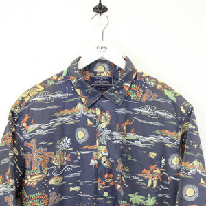 RALPH LAUREN Hawaiian Shirt Multicolour | Large
