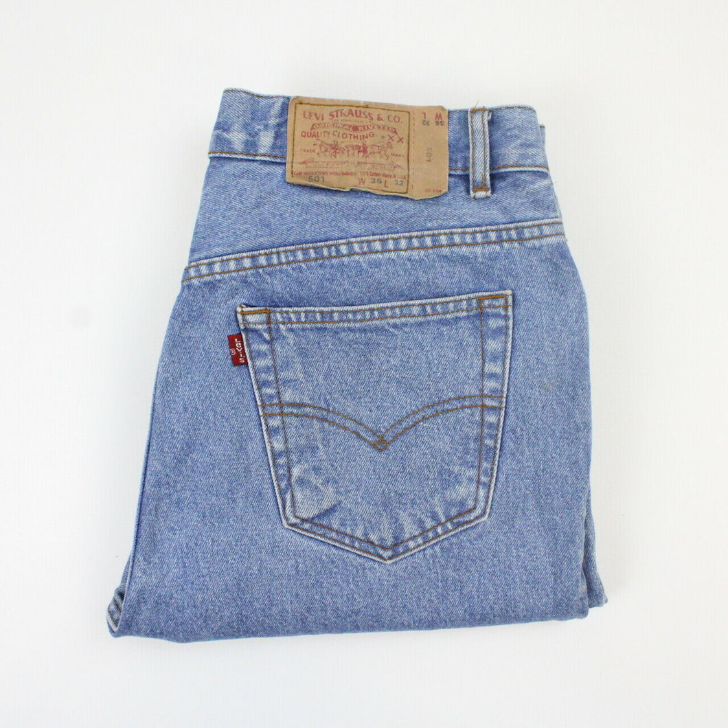 LEVIS 501 Jeans Light Blue | W36 L32