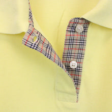 Load image into Gallery viewer, Womens BURBERRY Polo Shirt Yellow | XS