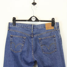 Load image into Gallery viewer, Womens LEVIS 501 CT Jeans Blue | W34 L30