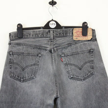 Load image into Gallery viewer, LEVIS 501 Denim Jeans Grey Charcoal | W36 L30