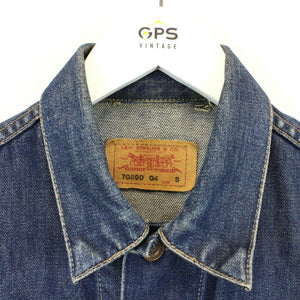 Womens LEVIS 90s Denim Jacket Blue | XS