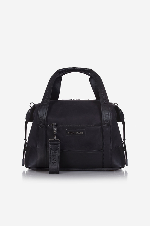 T+M x Selfridges Felix Extendable Holdall Changing Bag Black
