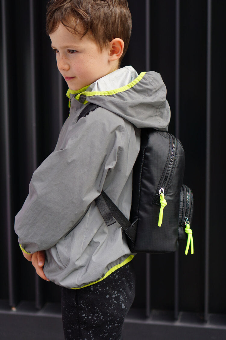T+M Eco Mini Elwood Kids Backpack Black