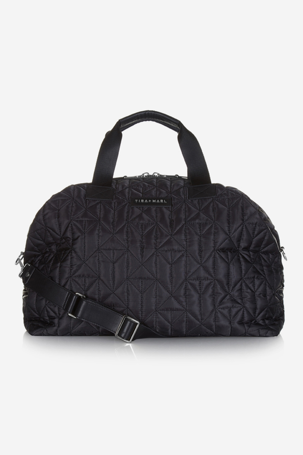 Raf Hospital Bag / Weekender Black Quilted