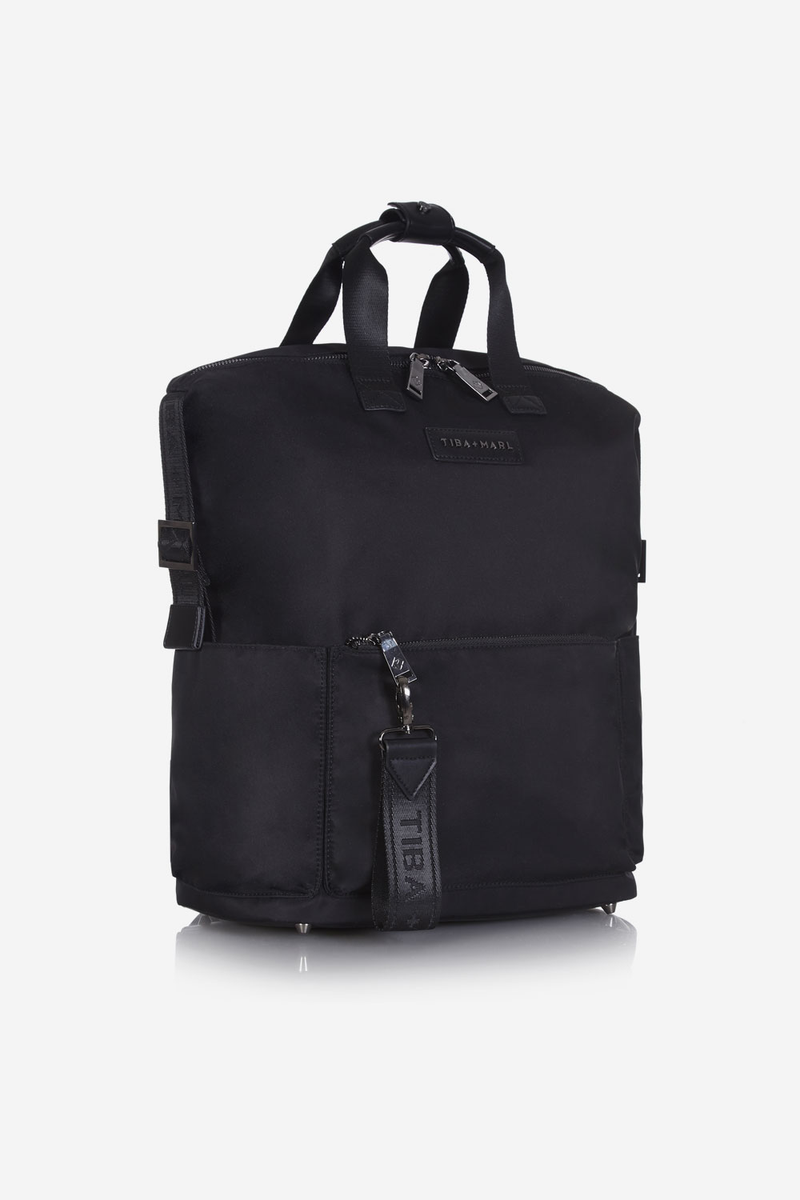 T+M x Selfridges Franklyn Changing Backpack / Tote Black