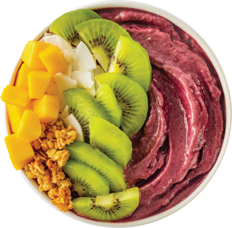 Acai Premium Grade Fruit Packs Lifestyle Bowl