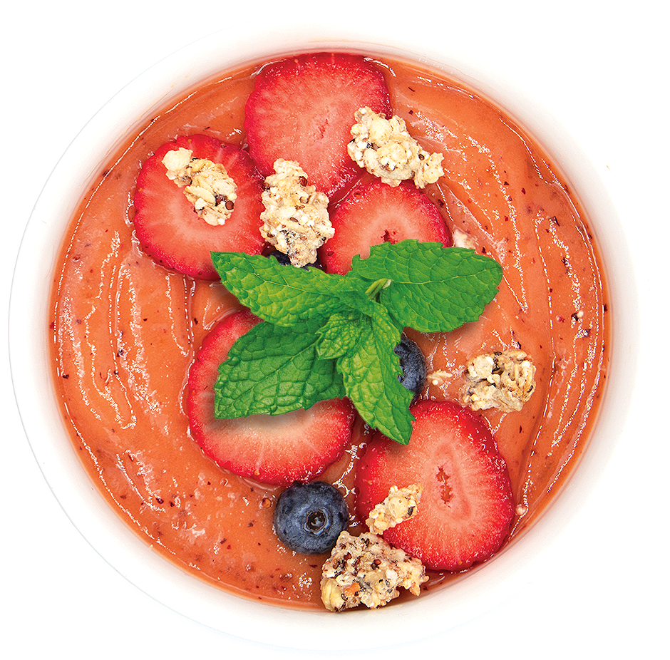 Acerola Fruit Packs Lifestyle Bowl